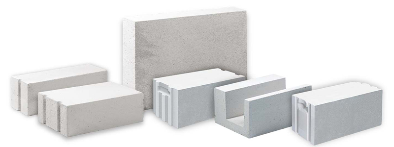Cellular concrete foam or aerated udk gazbeton blocks for Foam block wall construction